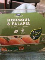 Houmous et falafel sandwich - Produit - en