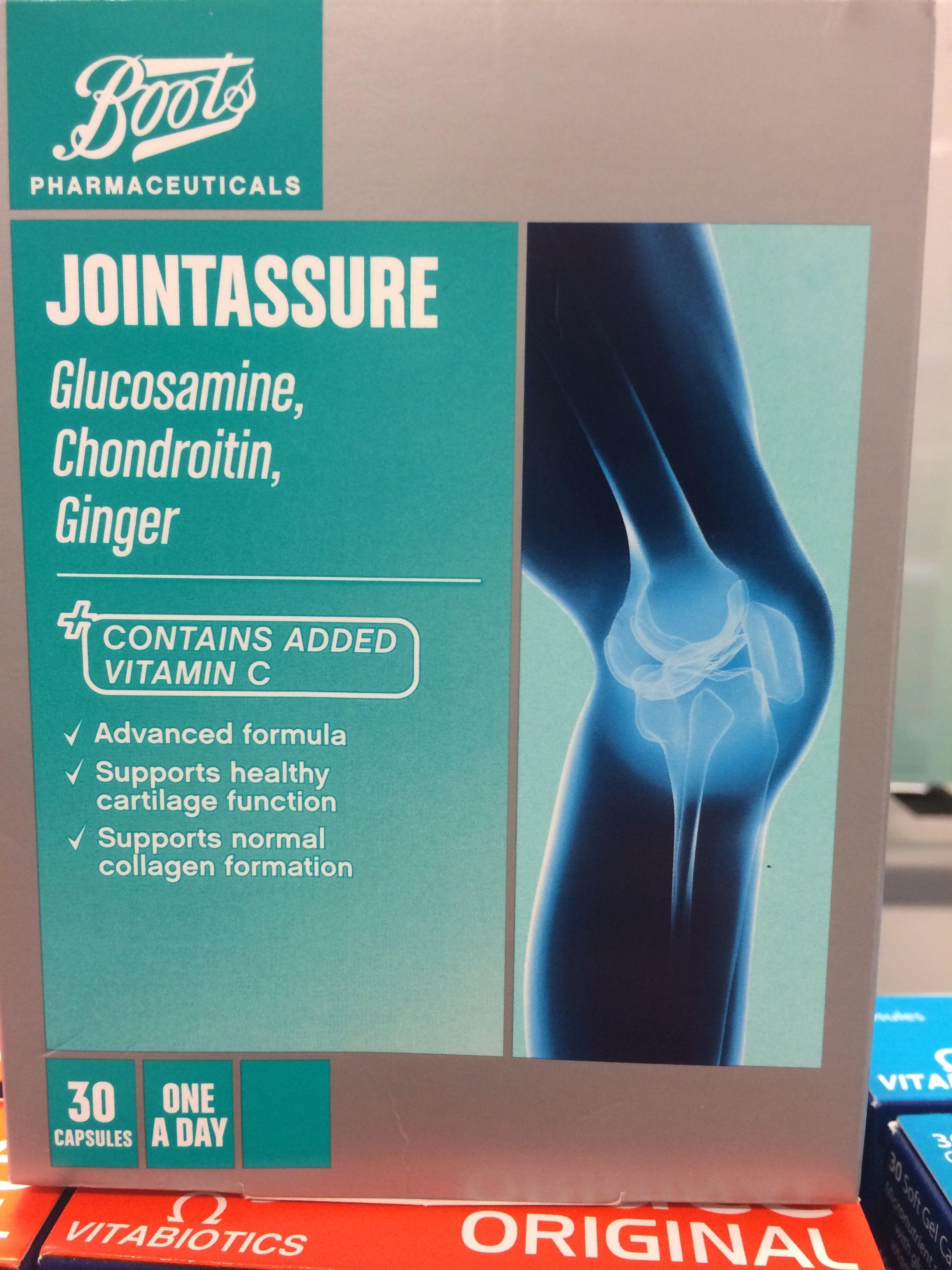 JOINTASSURE - Glucosamine, Chondroitin, Ginger - Product - en