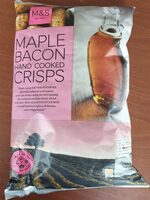 Maple Bacon Hand Cooked Crisps - Product - fr