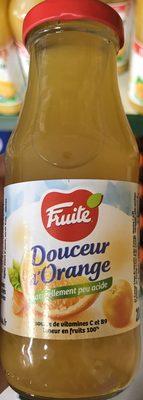 Douceur d'Orange - Produit