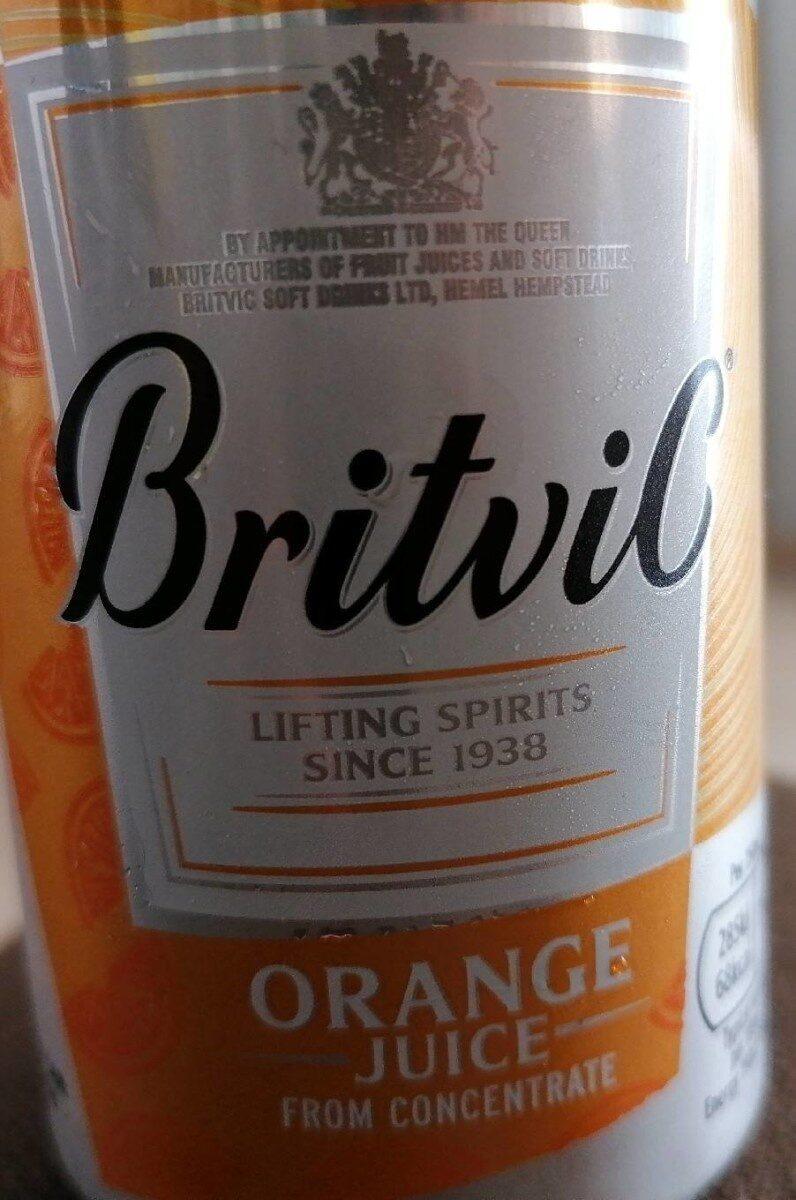 Orange juice from concentrate - Produit - en