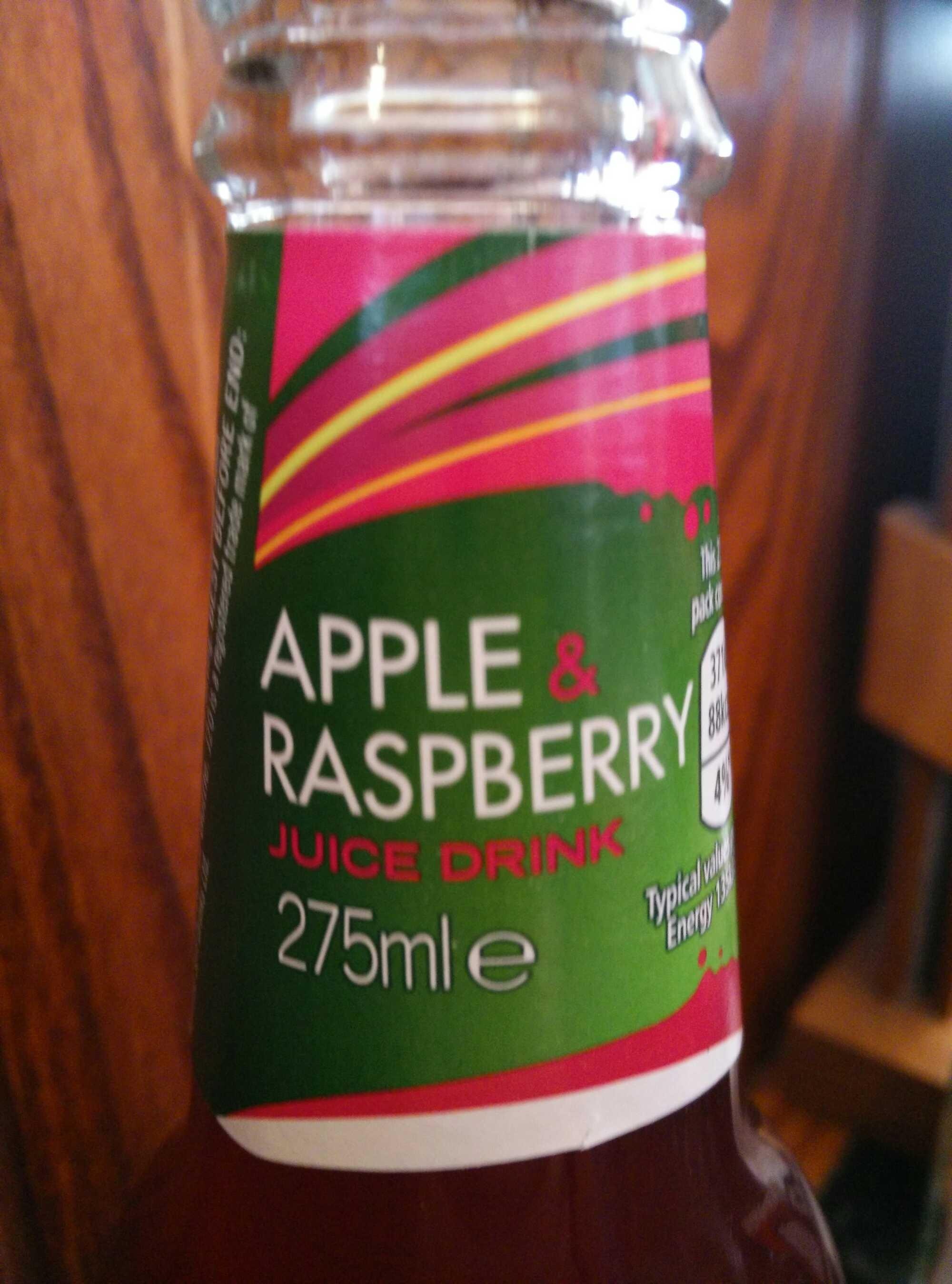 J2o Soft Drink Sparkling Apple & Raspberry - Produit - en