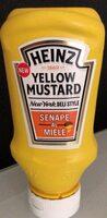 Yellow mustard senape al miele - Продукт - bg