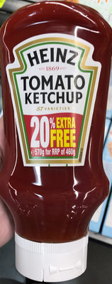 Tomato Ketchup (20% extra free) - Product - fr
