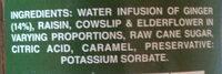 Rochester Ginger Drink - Ingredients - en