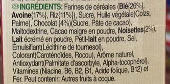 Tresor - Ingredients - fr