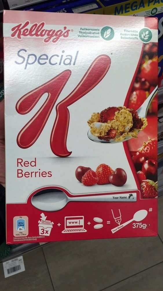 Special K Red fruit - Product - fr