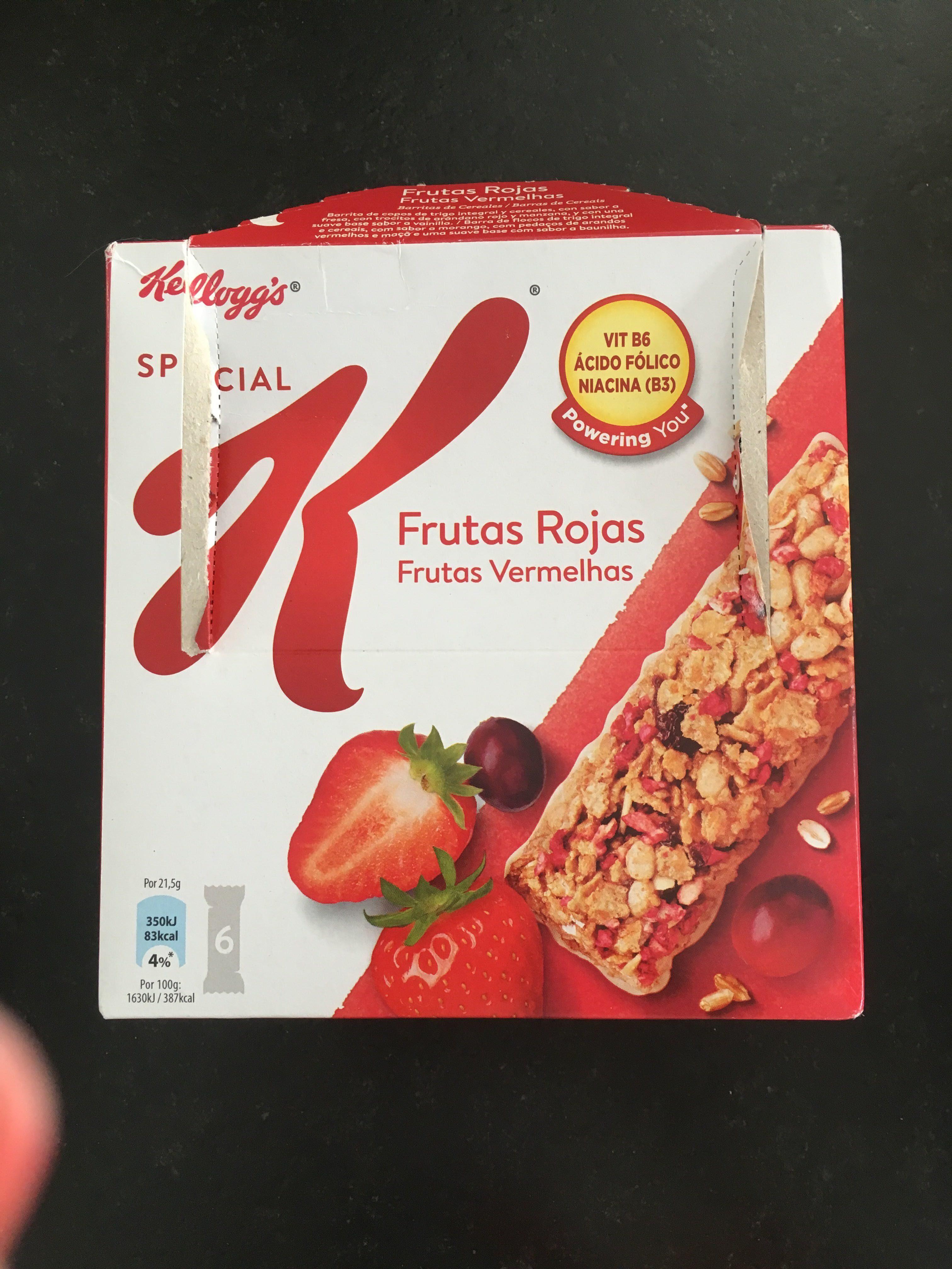 Kellogs Special K Frutas rojas - Producto - es