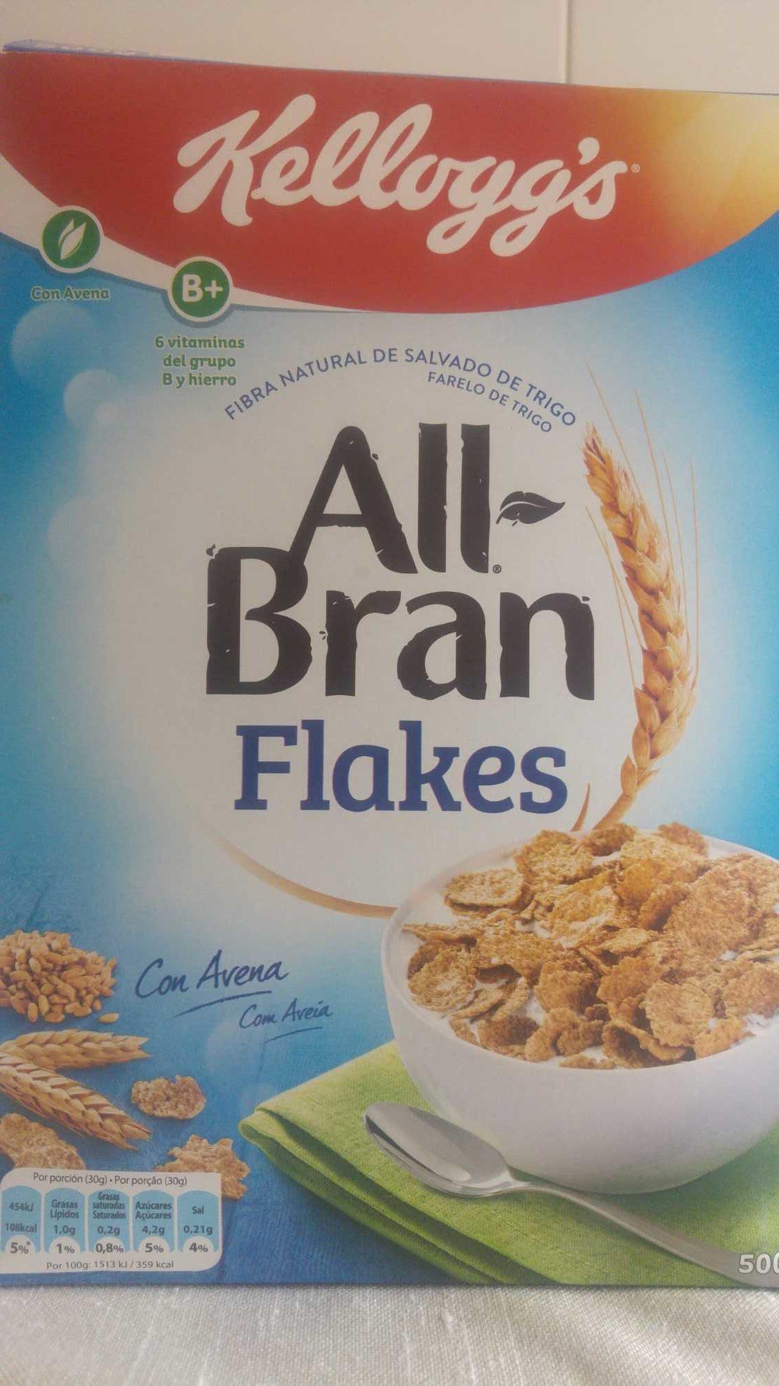 All Bran Flakes - Kellogg's - Product - en
