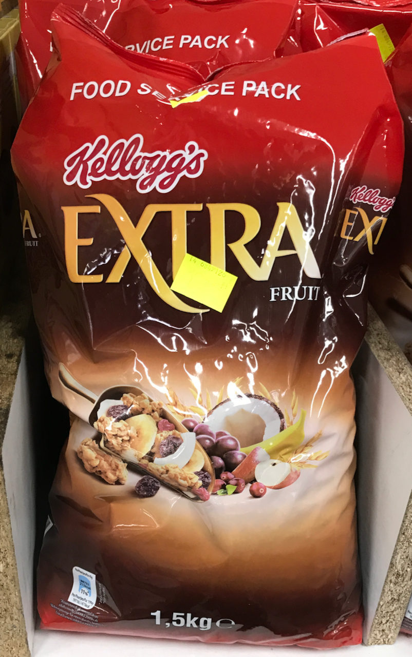 Kellogg's Extra Fruit 1.5kg - Produit - fr
