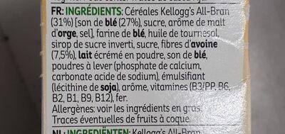 Kellogg's All-bran Nature Bars - Producto - fr