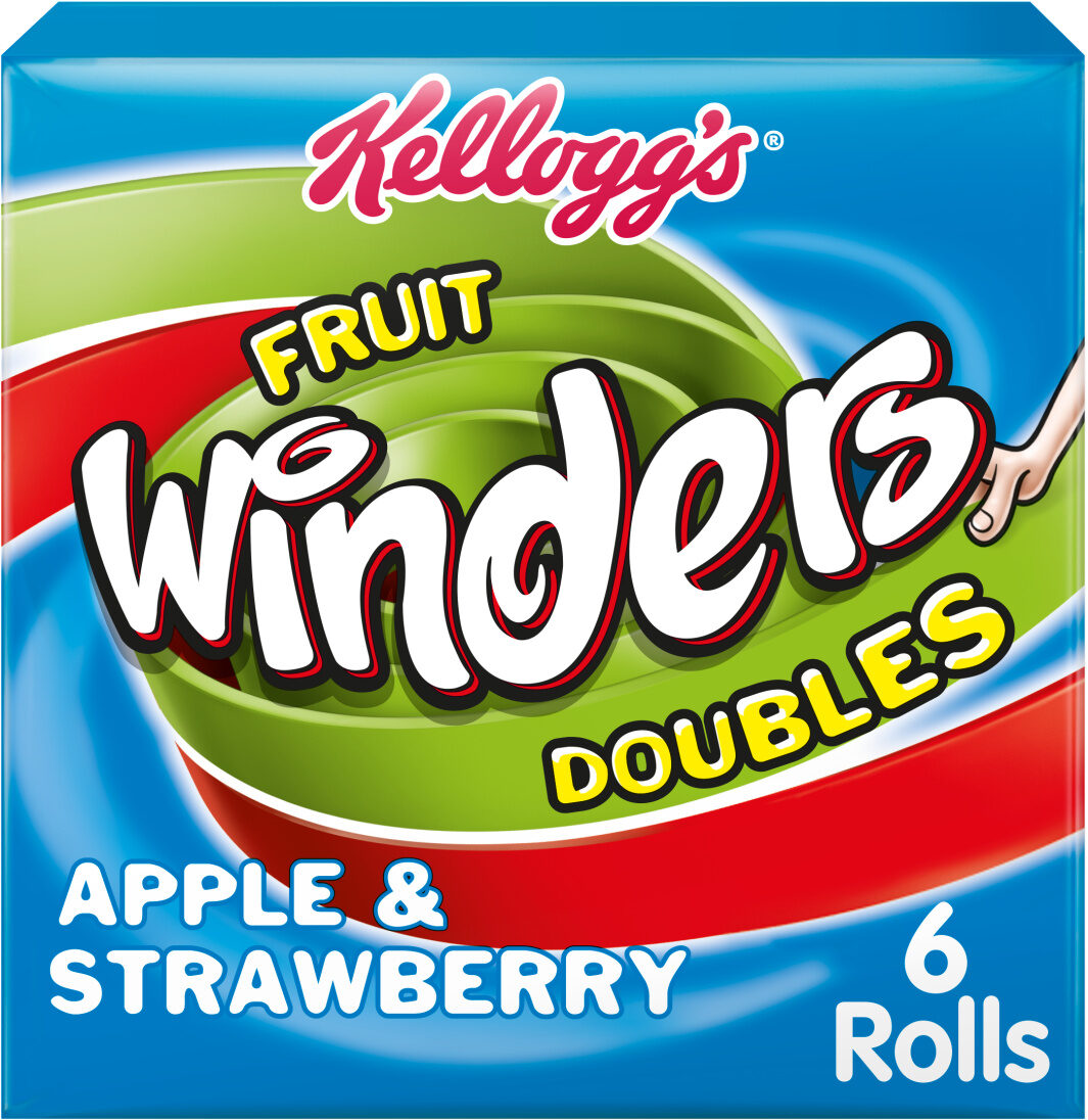 Fruit Winders Strawberry & Apple, (Pack of 6) - Product - en
