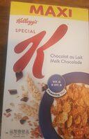 Spécial K au chocolat au lait - Produit
