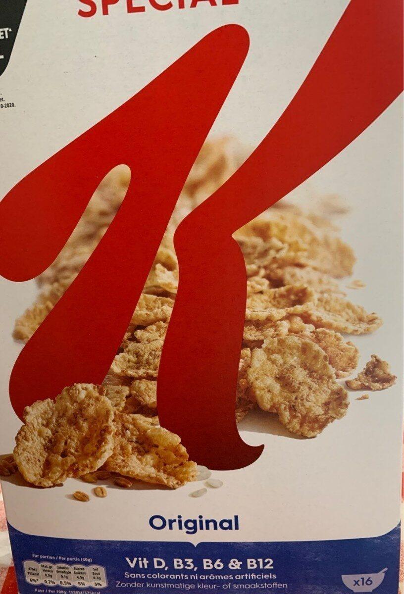 Cereales special K original - Produit - fr