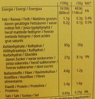 Honey Bsss Pops - Informazioni nutrizionali - de