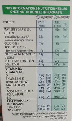 Spécial K - Voedingswaarden