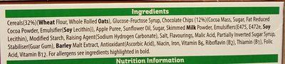 Nutri-Grain Choc Chip Breakfast Bakes 6 x - Ingrédients