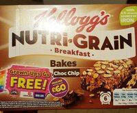 Nutri-Grain Choc Chip Breakfast Bakes 6 x - Informations nutritionnelles - en