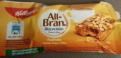 All-Bran bizcochito fruta y fibra - Product - es