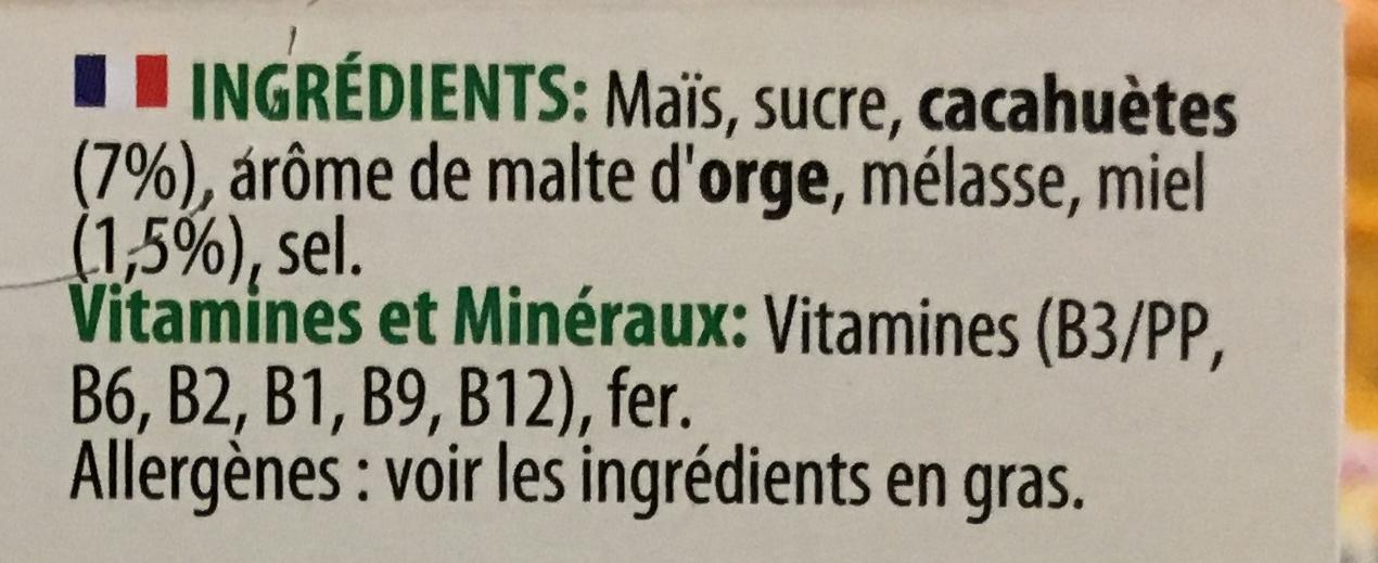 Crunchy Nut - Ingredients