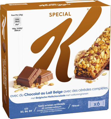 Special K Barres de céréales chocolat au lait - Producto - fr