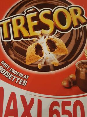 Céréales trésor chocolat noisette - Prodotto - fr