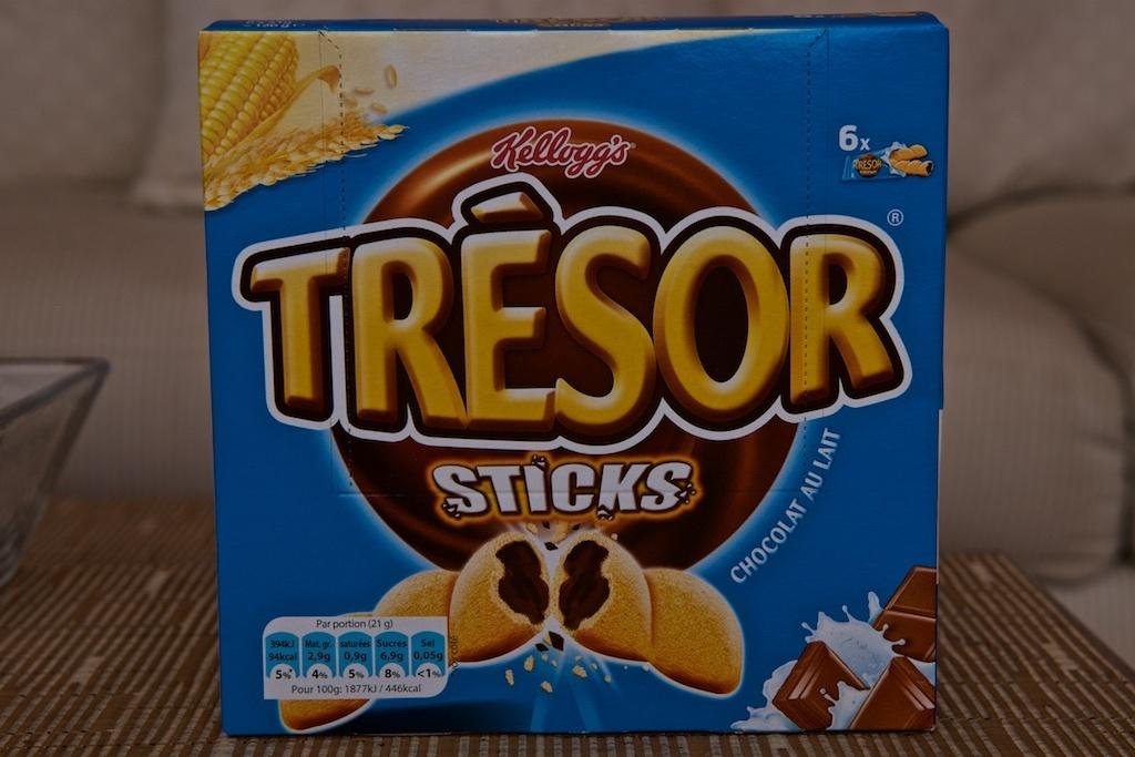 Trésor Sticks Chocolat au Lait - Product