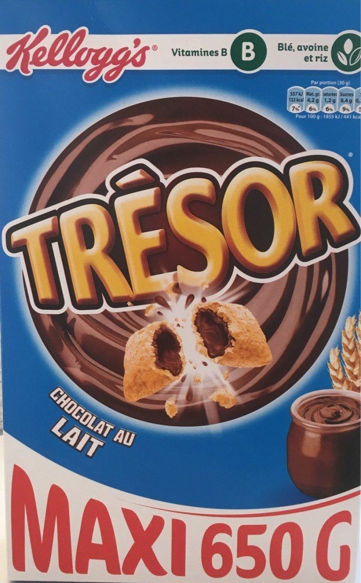 Trésor - Chocolat Au Lait - Product - fr