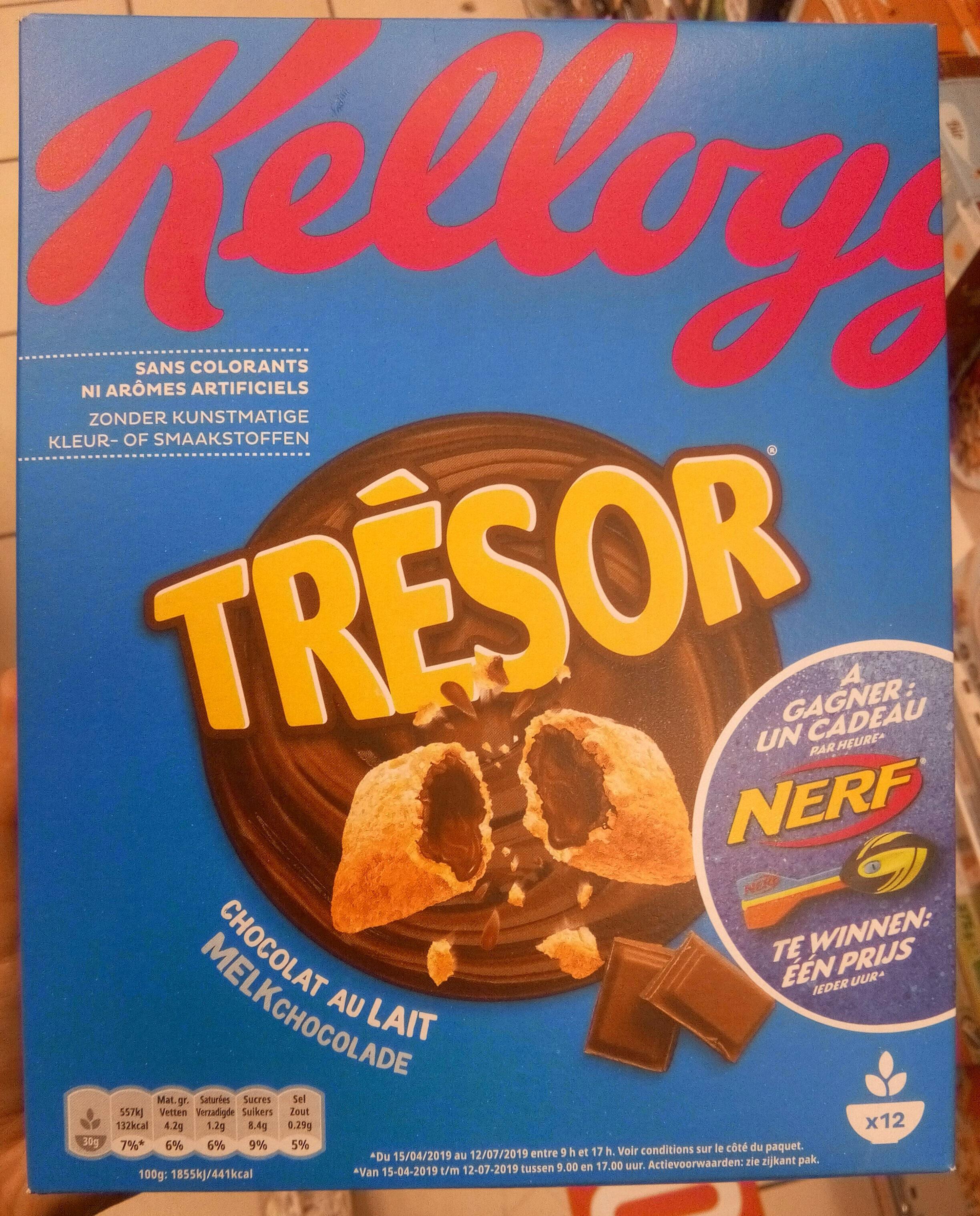 Kellogg's Trésor Chocolat au lait - Produit