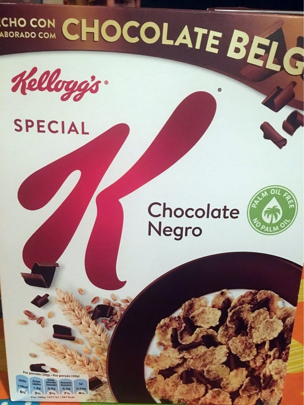 Special K Dark Chocolate - Product