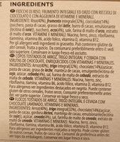 Special K chocolate negro - Informação nutricional - es