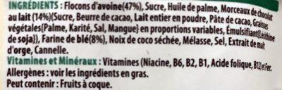 Extra Kellogg's - Ingrédients - fr