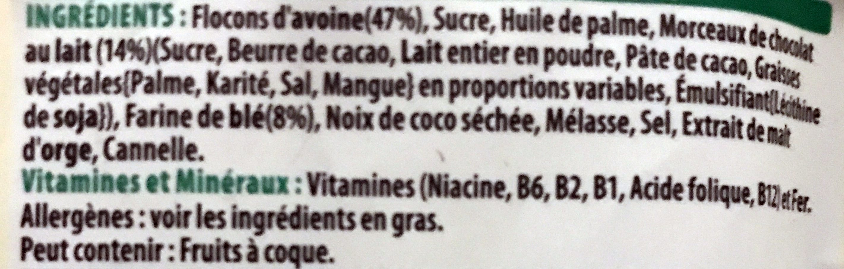 Extra Kellogg's - Ingredients - fr