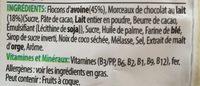 Extra - Crunchy Muesli - Milk Chocolate - Ingredients