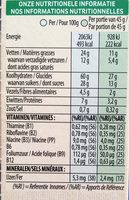 Extra - Crunchy Muesli - Milk Chocolate - Nutrition facts