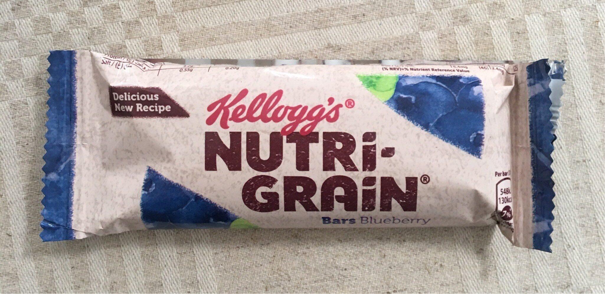 Nutri grain bar, blueberry flavour - Product