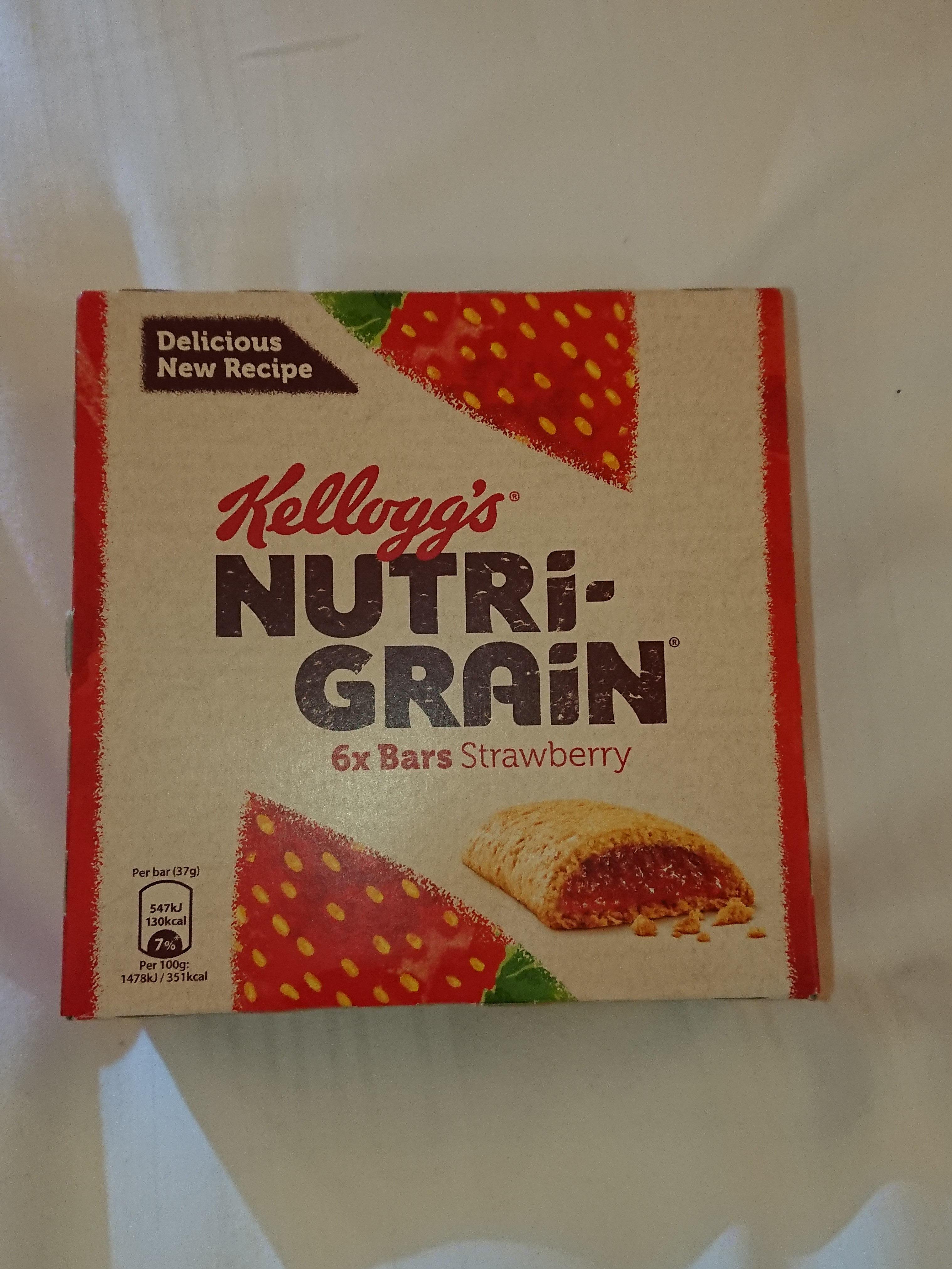 Nutri-Grain Strawberry Cereal Bars 6 x - Product - en