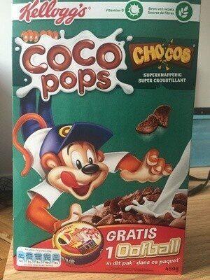 Céréales Coco Pops Chocos - Produit - fr