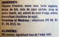 Extra - Pépites Biscuitées - Ingredients - fr