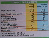 Kellogs Smacks - Informations nutritionnelles - fr