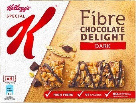 Special K Fibre Chocolate Delight Dark 4 x - نتاج - en