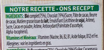 All-Bran Choco - Ingrediënten