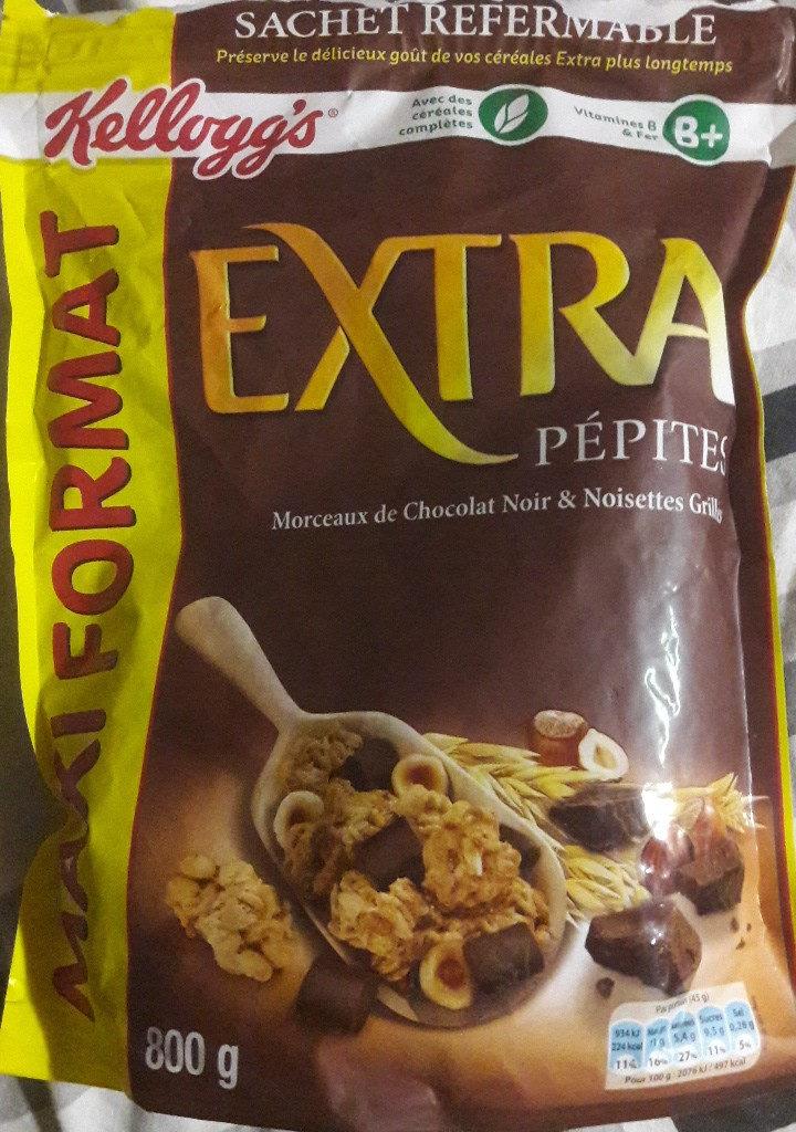 Extra - Chocolat noir et noisettes grillées - Product - fr