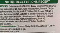Trésor Chocolat Lait - Ingrediënten - fr