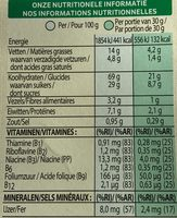 Trésor Chocolat Lait - Voedingswaarden - fr