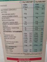 Spécial k original - Informazioni nutrizionali - fr