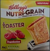 Nutri-grain à toaster Framboise - Produit - fr