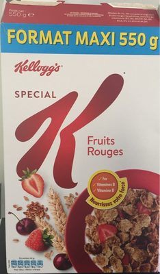 Spécial K Fruits Rouges - Product - fr