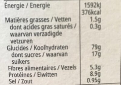 Spécial K Fruits Rouges - Nutrition facts - fr