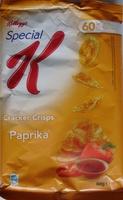 Cracker Crisps Paprika (60 % de matières grasses en moins) - Produit - fr